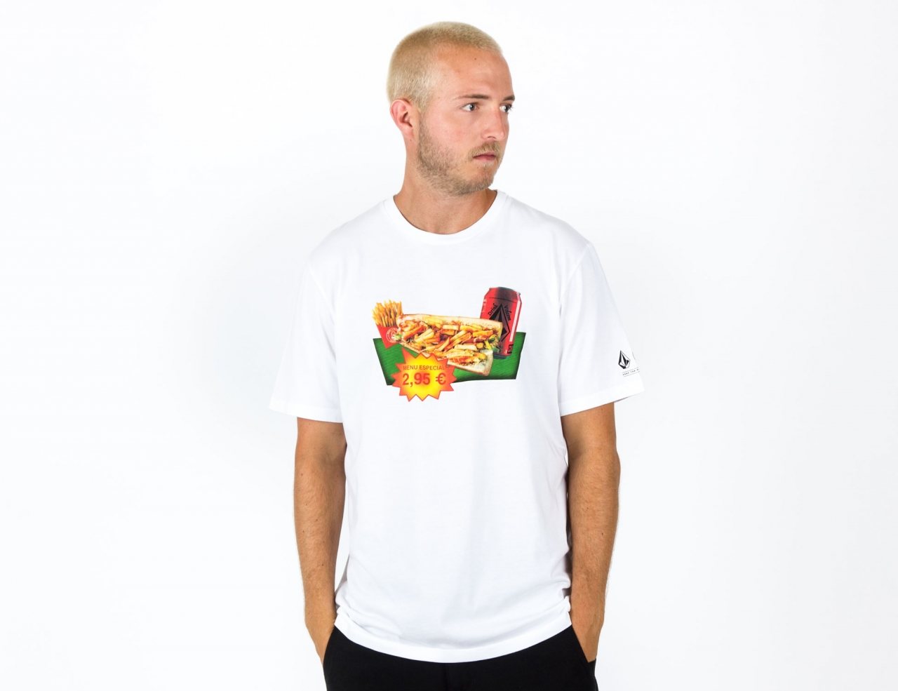 Volcom MCBLxVLCM T-Shirt #2-white