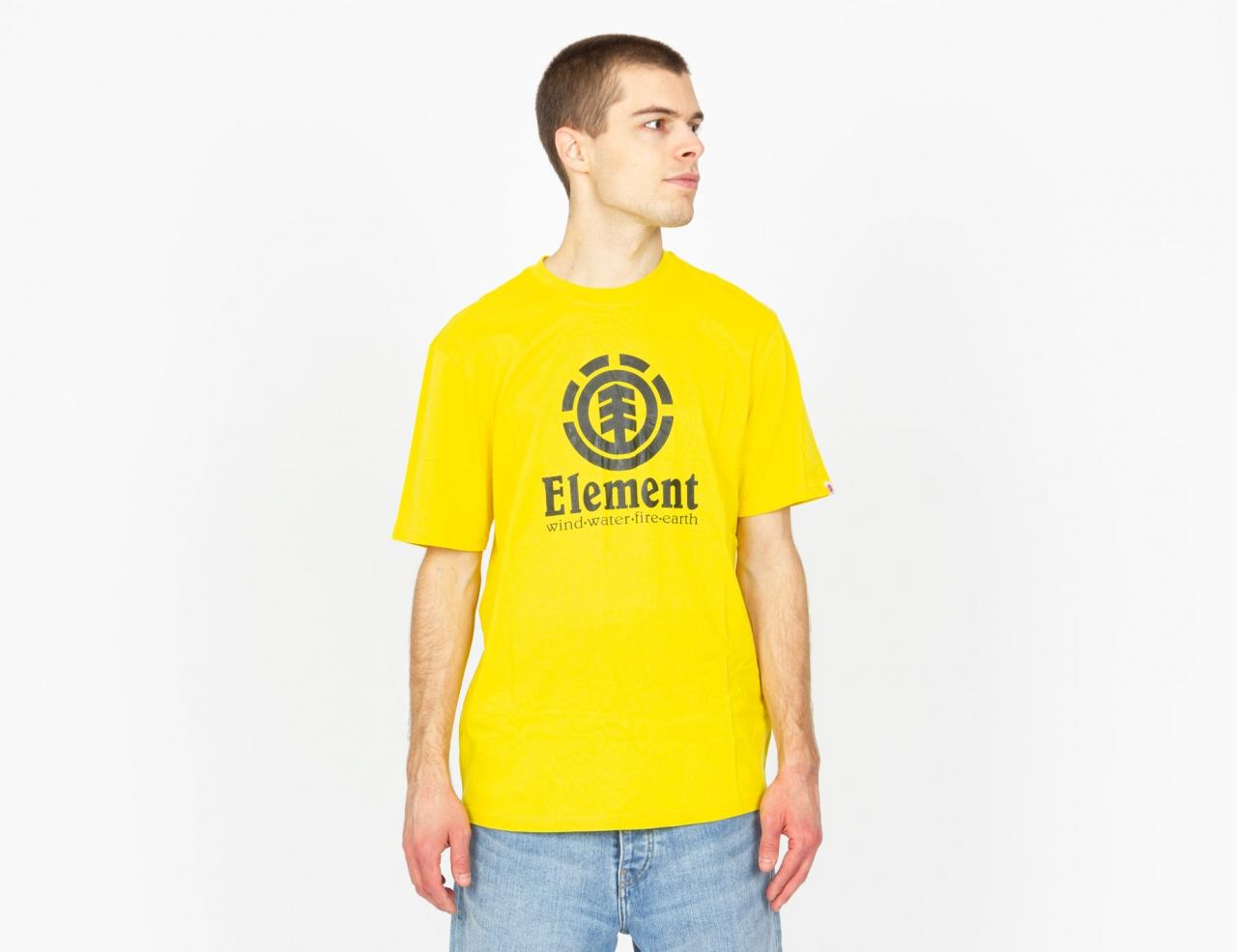 Element Element Vertical T-Shirt - Bright Yellow