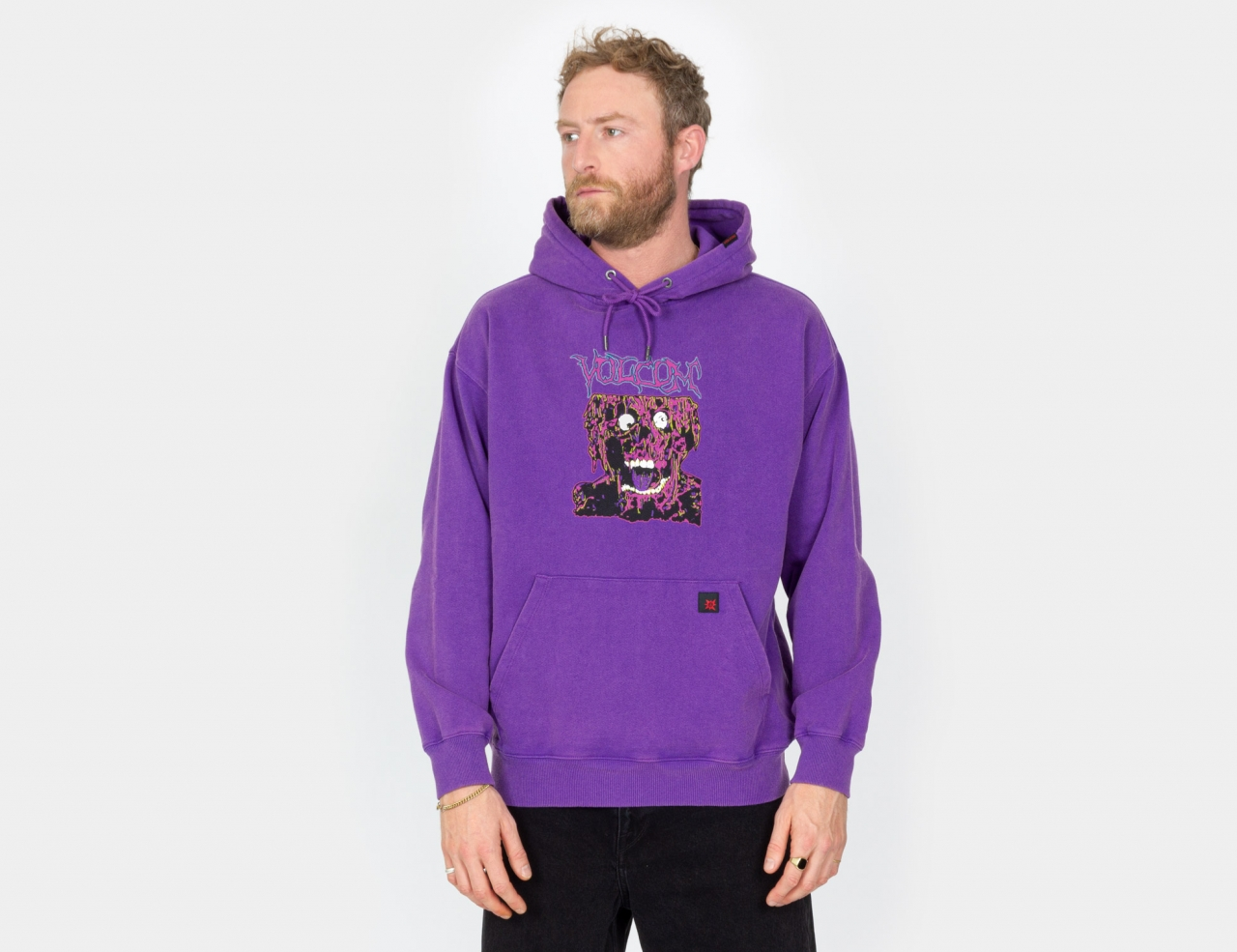 Volcom Something Out There Sweatshirt - Prism Violet