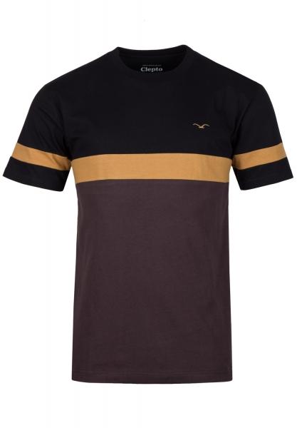 Cleptomanicx Dekker T-Shirt - Black