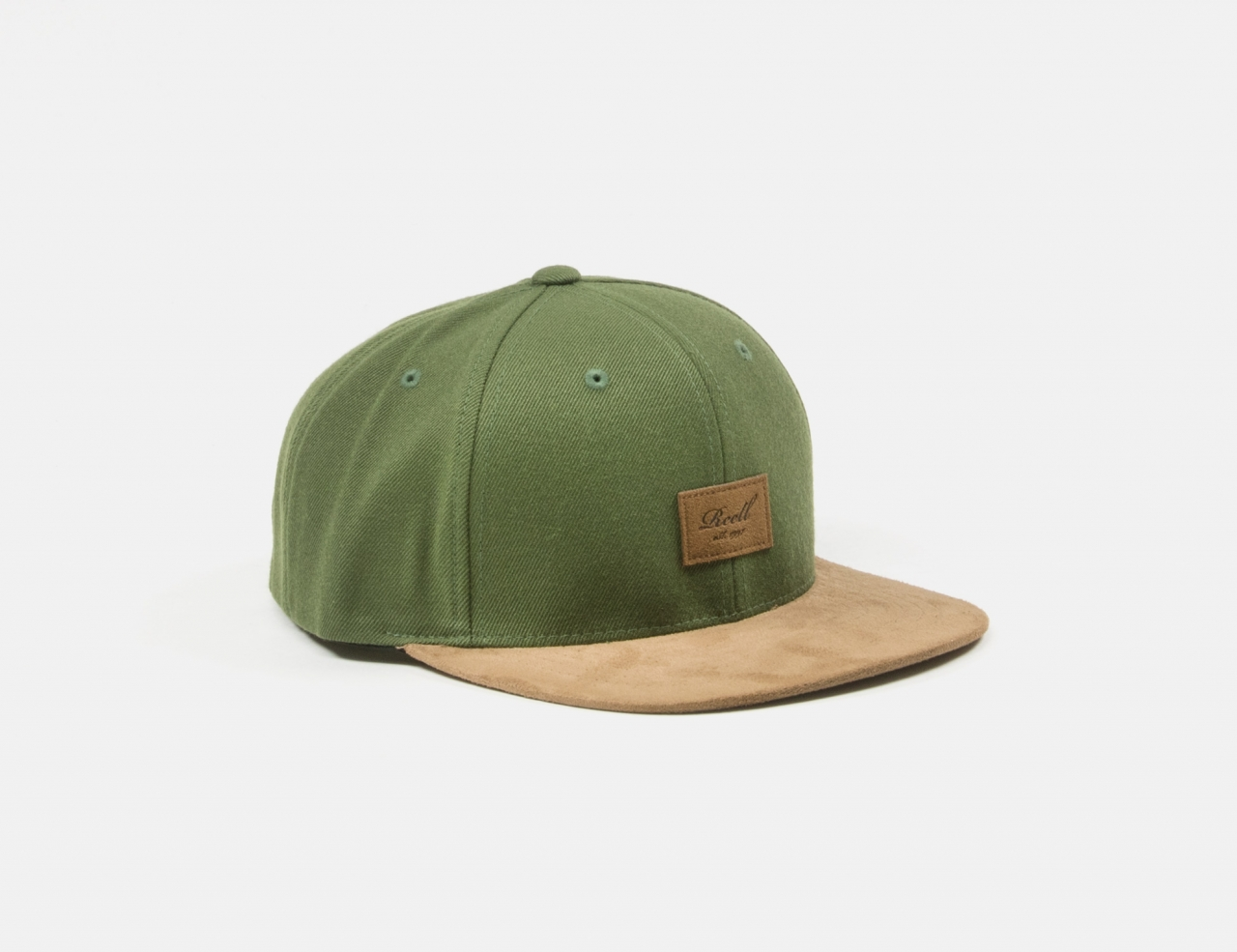 Reell Jeans Suede Cap - Army Olive