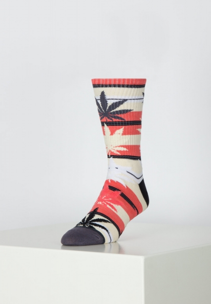 HUF Stripe Plantlife Socken - Desert Flower
