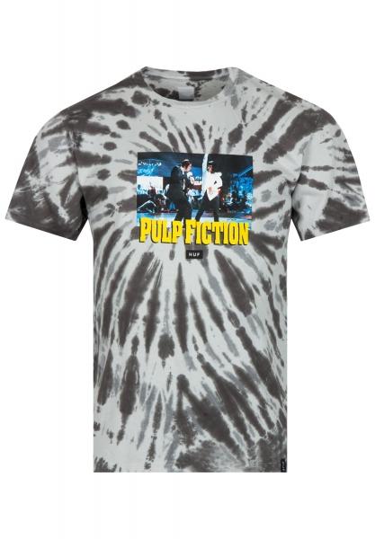 HUF Dance Scene Tie Dye T-Shirt-black