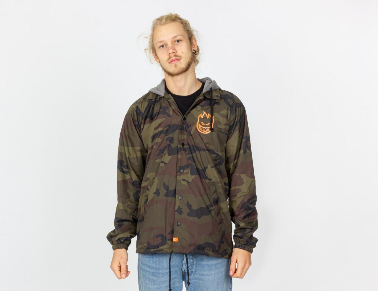 Spitfire Covert Hooded Coach Jacket