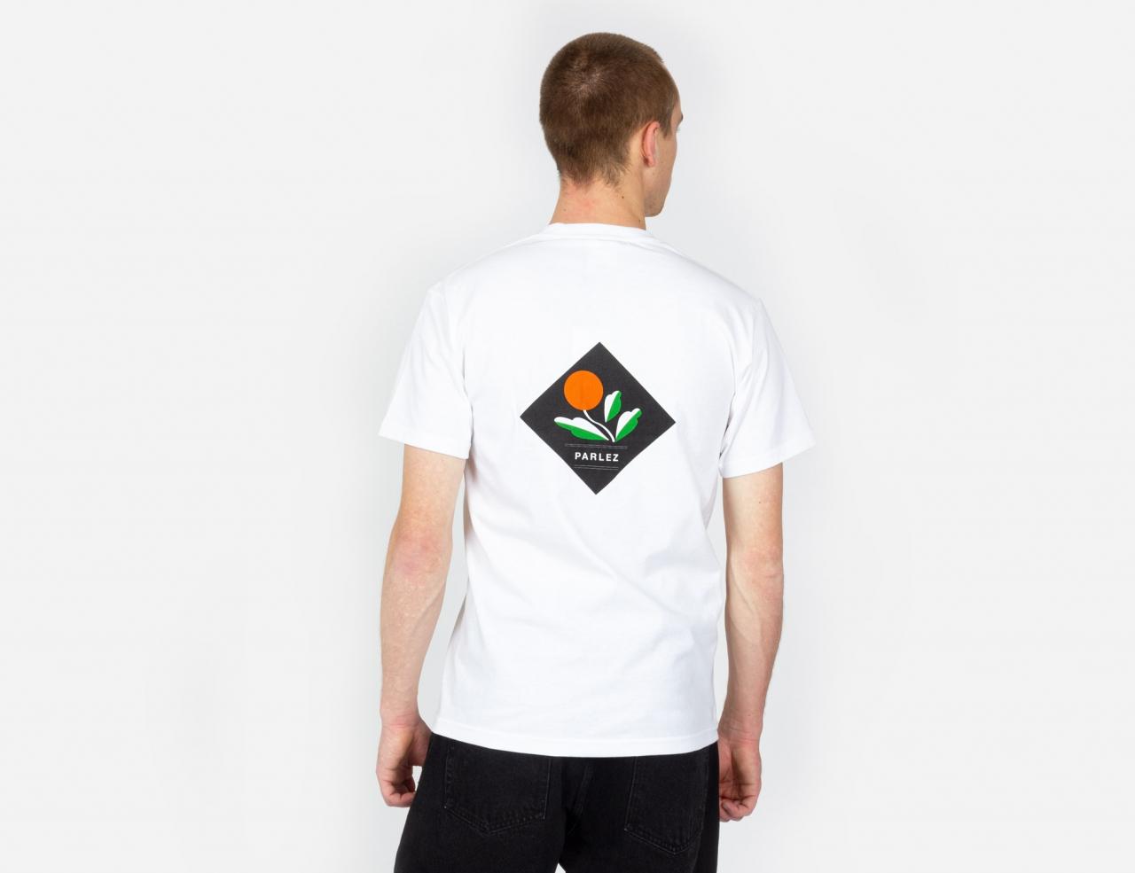 Parlez Kojo Back Shirt - White