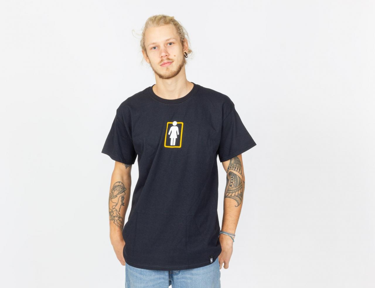Girl Unboxed OG Center Shirt - Black