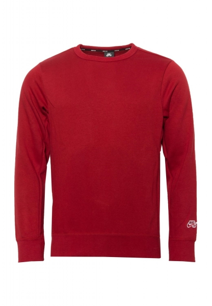 Nike SB Essential Icon Crew Neck - Red