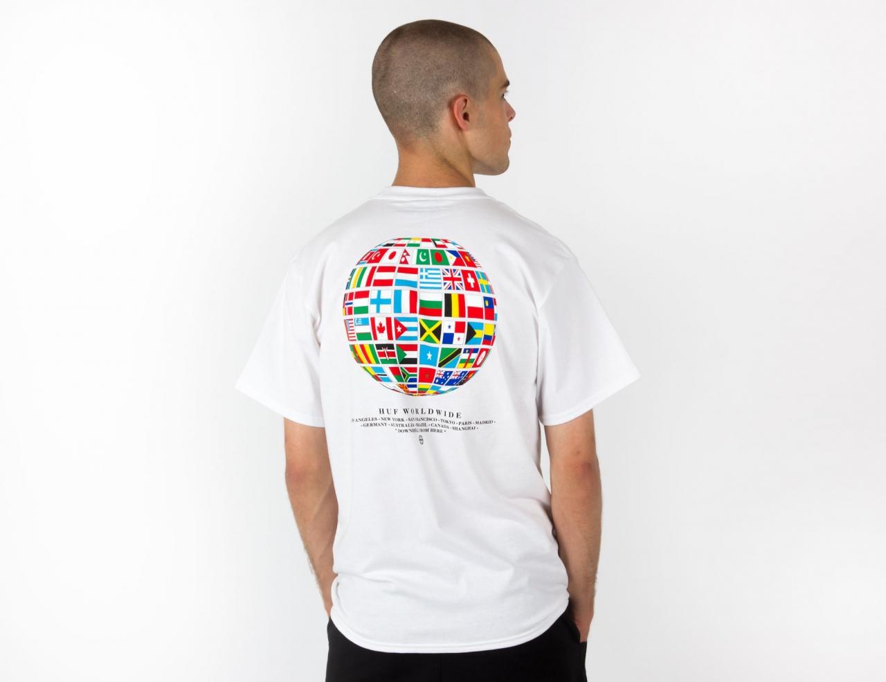 HUF Global Wave T-Shirt - White