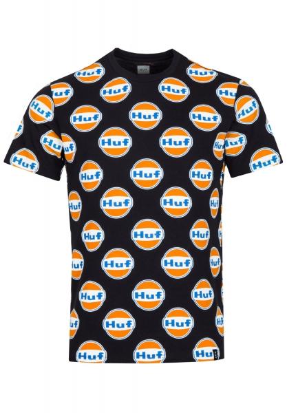 HUF Ignite All Over T-Shirt - Black