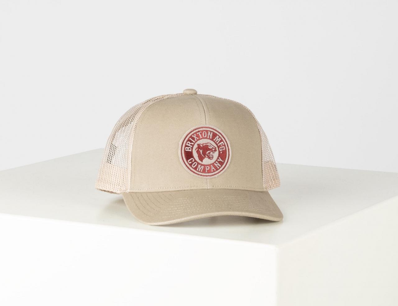Brixton Forte Mp Mesh Cap - Khaki / Brick