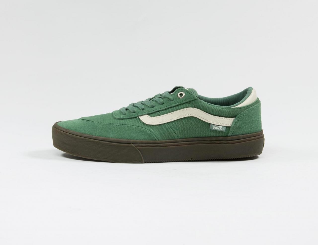 VANS Gilbert Crockett 2 Pro Sneaker - (Dark Gum) Hedge Green