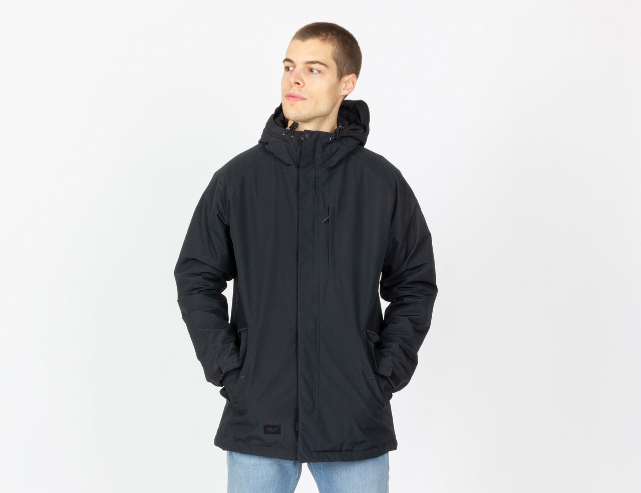 Reell Jeans Padded Parka - Black