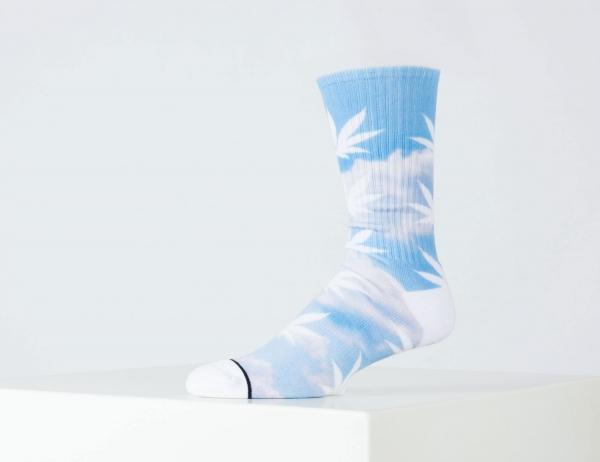 HUF Digital Cloud Plantlife Socks - Greek Blue