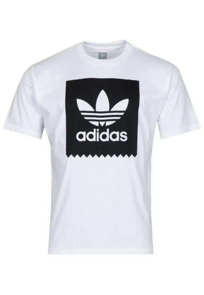 Adidas Solid Bb T-Shirt - White/Black