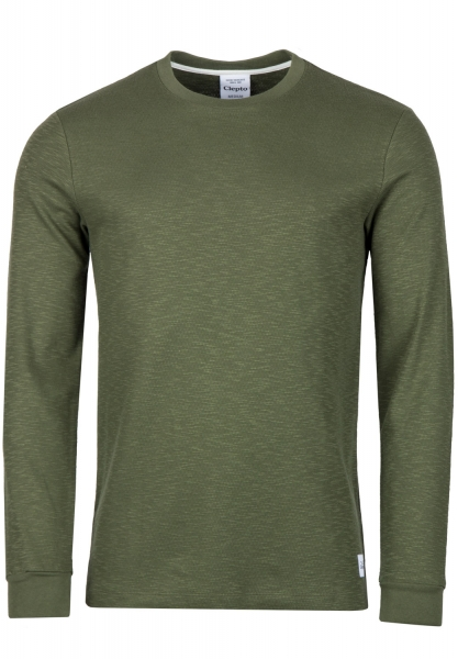 Cleptomanicx Broken Intelrock Longsleeve - Rifle Gree