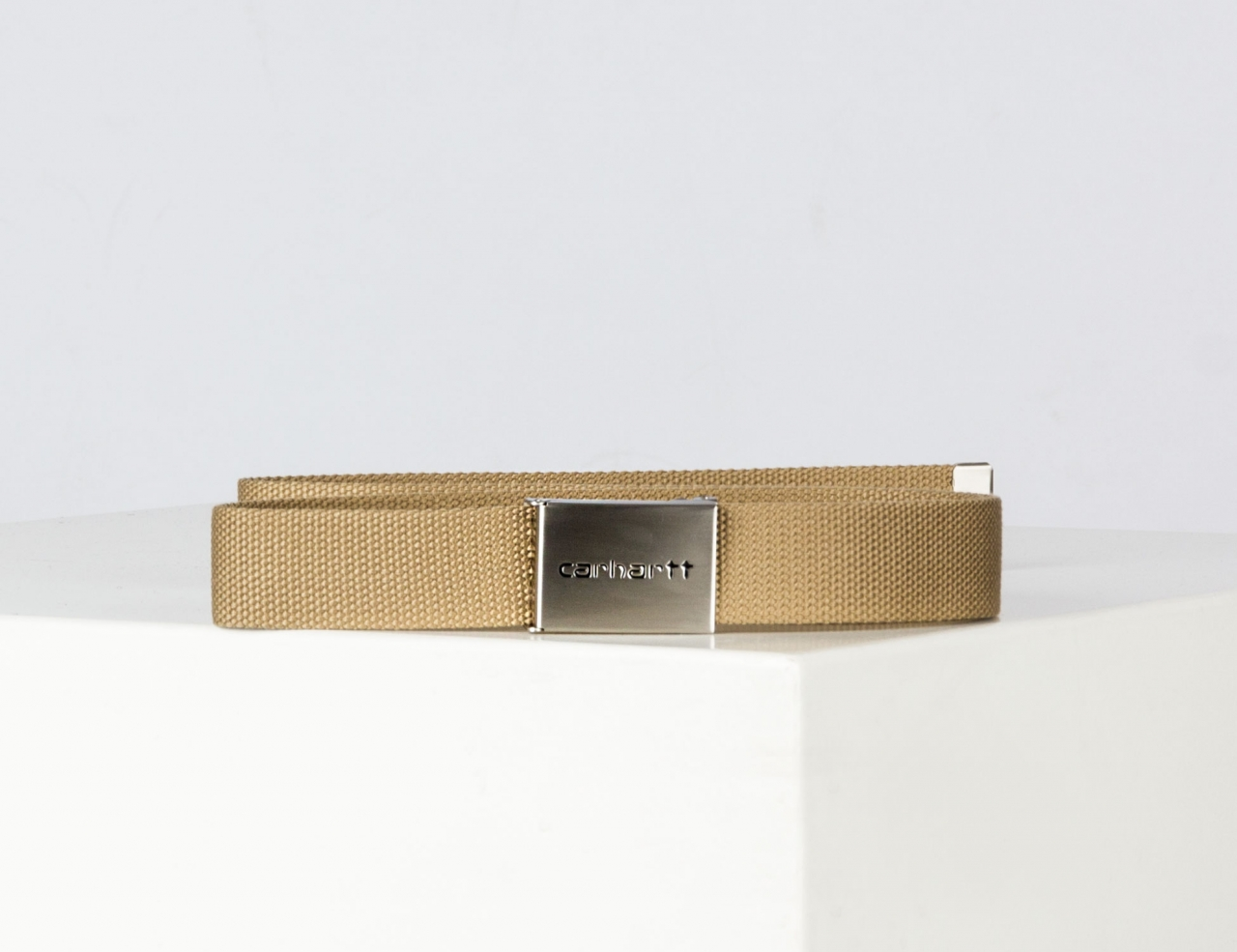 Carhartt WIP Chrome Clip Gürtel - Leather