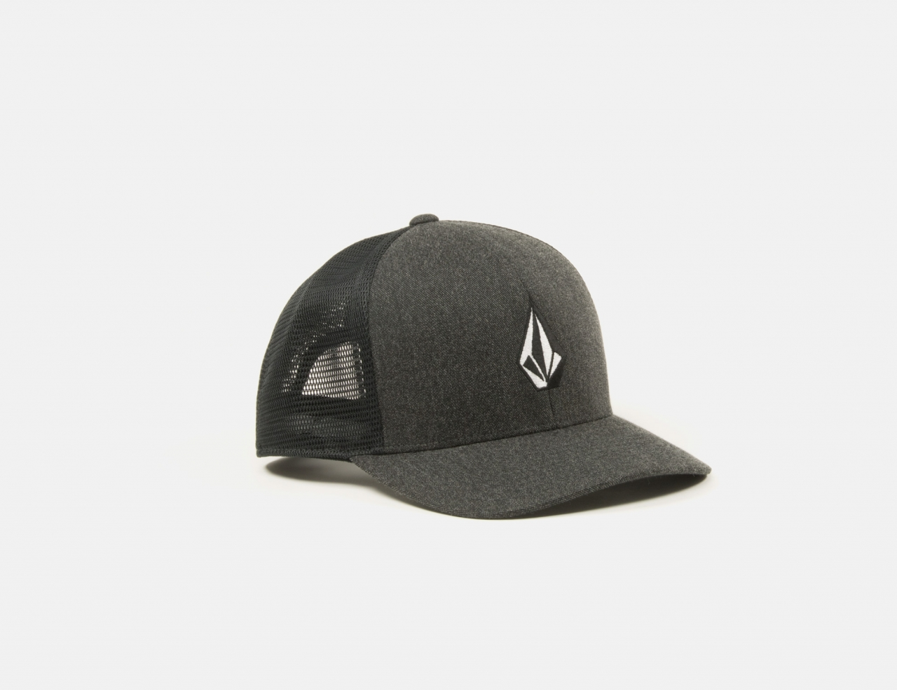 Volcom Full Stone Cheese 110 Trucker Cap - Charcoal Heather