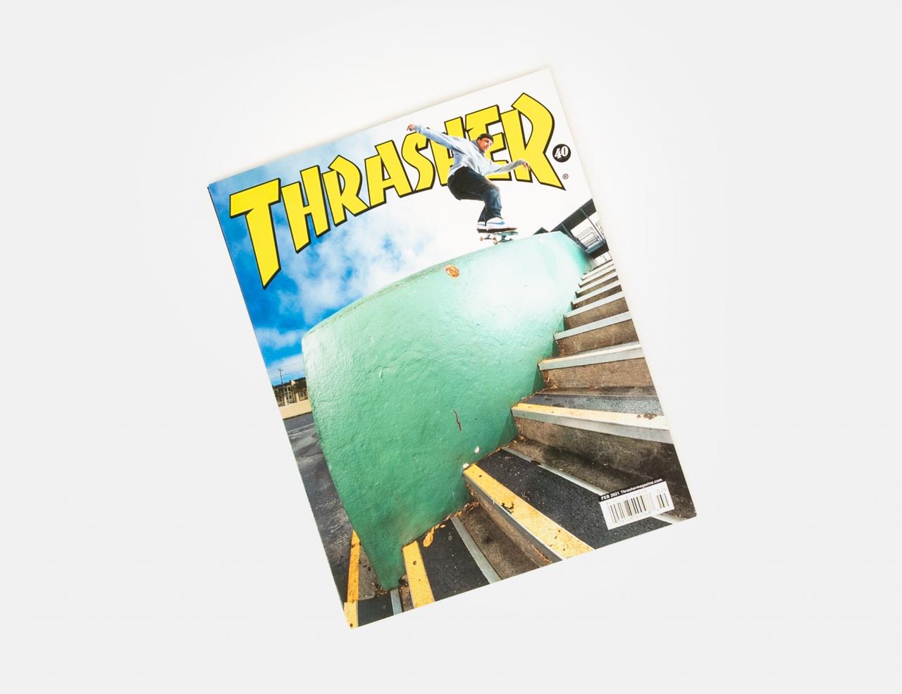 Thrasher Magazine Issues 2021 - February