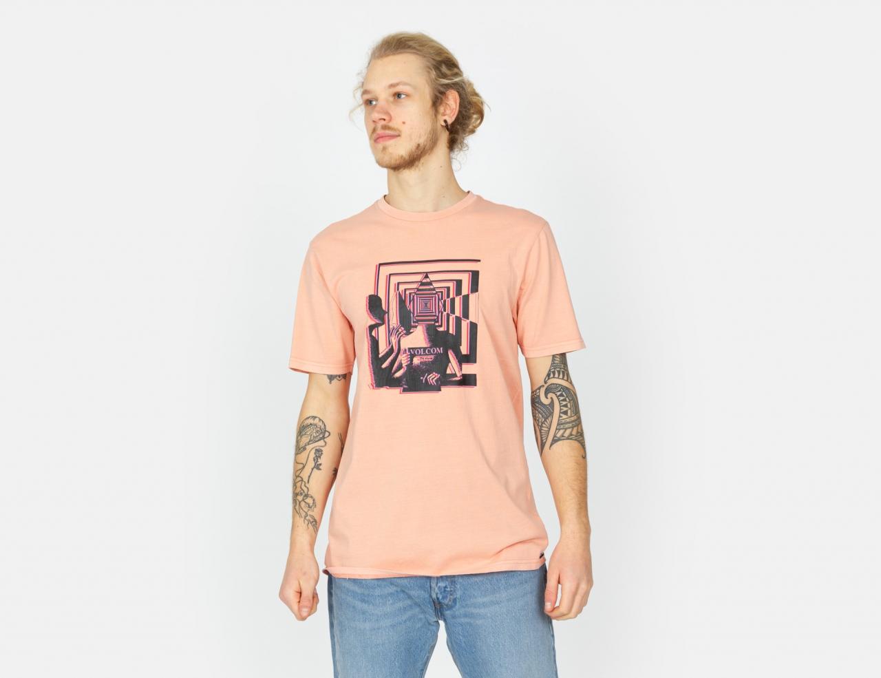 Volcom Stone Reveal T-Shirt - Clay Orange