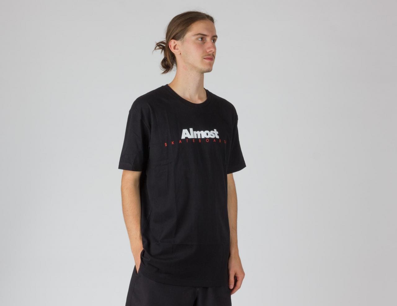 Almost Premium Classic Logo T-Shirt-black