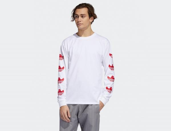 Adidas G Shmoo Longsleeve - White