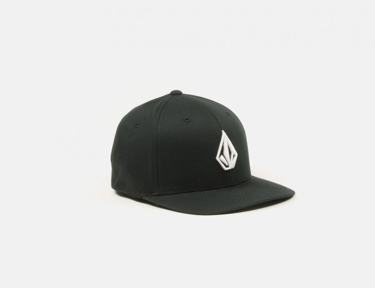 Volcom Stone Recycled Flexfit Cap - Black