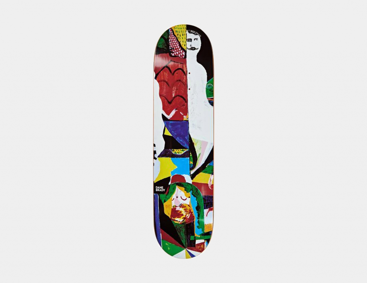 Polar Skate Co. Dane Brady - Memory Palace 8.125 Deck